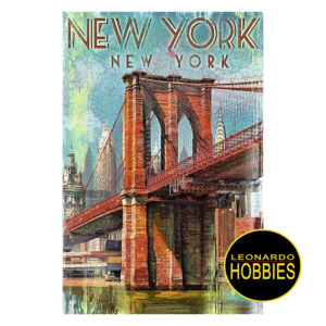 Retro New York 1000 Piezas Ravensburger 19835