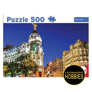 Madrid 500 Piezas Antex 3057
