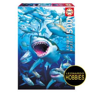 Tiburones 500 Piezas Educa 17085