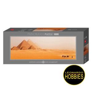 Piramides de Giza en Egipto,Edición Alexander Von Humboldt 1000 piezas Panorama Heye 29516