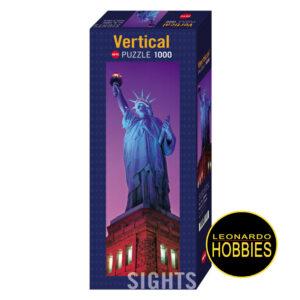 Statue of Liberty,Estatua de la Libertad ,1000 piezas Panorama Heye 29605