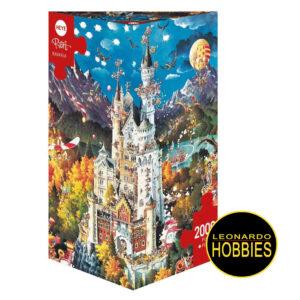 Bavaria de 2000 piezas Heye 29700 LEONARDO HOBBIES , PECOS , BILL, CARICATURAS , PUZZLES TRIANGULARES