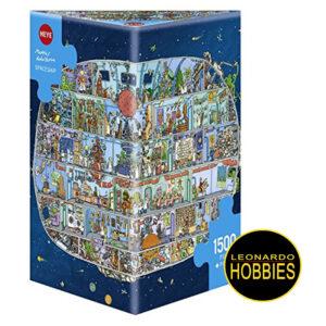 ,LEONARDOHOBBIES,PUZZLES,ROSARIO,ROMPECABEZAS,HEYE,CARICATURAS,DIVERTIDOS,COMICS,ROSARIO,ARGENTINA,ROMPECABEZAS TRIANGULARES Nave Espacial de 1500 piezas Heye 29841