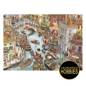 O Sole Mio Gobel-Knorr de 2000 piezas Heye 29843 puzzle triangula heye , caricaturas , leonardo hobies ,pecos, rosaario