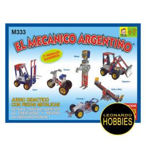 El Mecánico Argentino 333 Piezas Perbal 333