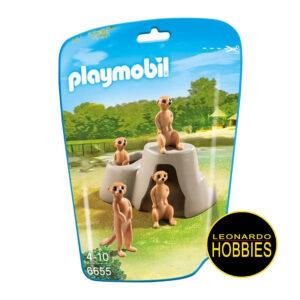Suricatas en sus Nidos Playmobil 6655