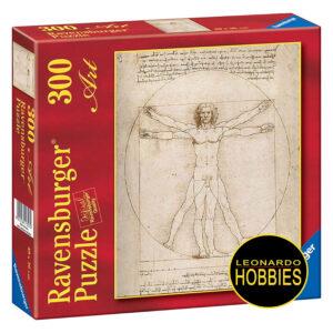 El Hombre de Vitruvio 300 Piezas Ravensburger 14012