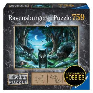 Lobos 759 Piezas Exit Puzzle Ravensburger 15028