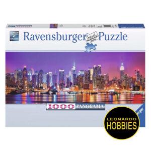 Luces de Manhattan 1000 Piezas Panorama Ravensburger 15078