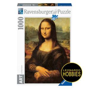 La Gioconda de Leonardo Da Vinci 1000 Piezas Ravensburger 15296