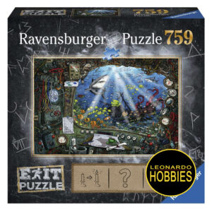 En el Submarino 759 Piezas Exit Puzzle Ravensburger 19953