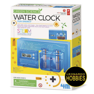 Water Powered Clock 4M 411