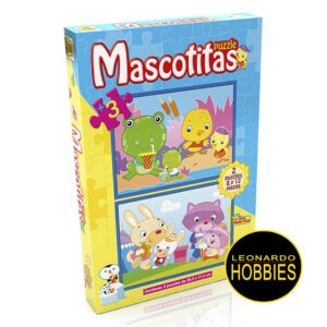 Mascotitas Nº2 Puzzles 8 y 12 Piezas Implás 022A