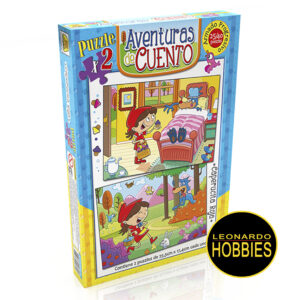 Caperucita Roja Puzzles 24 y 40 Piezas Implás 032