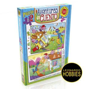 Los Chanchitos Puzzles 24 y 40 Piezas Implás 032