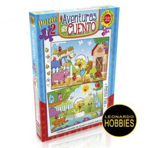 Patito Feo Puzzles 24 y 40 Piezas Implás 046
