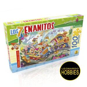 Los 7 Enanitos 100 Piezas Implás 215