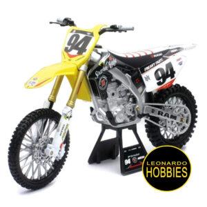 NEWRAY,MOTOS DIE CAST,MOTOS DE METAL,MOTOS DE COLECCIÓN,Suzuki RCH RM-Z450,Ken Roczen,Motorsport Diecast Model Motorcycle -ESCALA 1:12 NEW RAY 57743