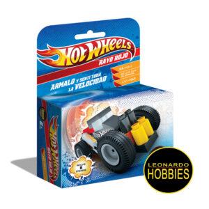 Rayo Rojo Hot Wheels 44 Piezas Rasti 1060