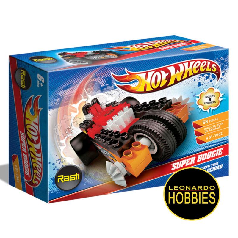 Super Boogie Hot Wheels 58 Piezas Rasti 1062