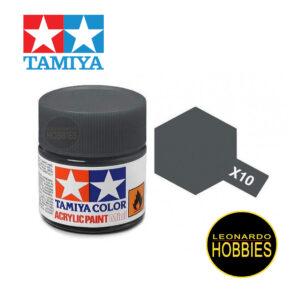 Tamiya X10 Gun Metal (Gloss)