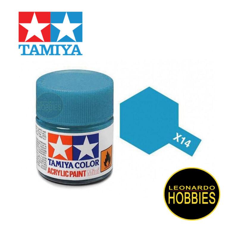 Tamiya Acrylic Mini X-14 Sky Blue (Gloss)