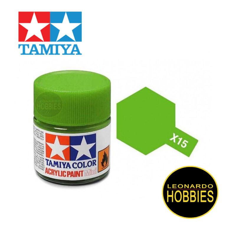 Tamiya Acrylic Mini X-15 Light Green (Gloss)
