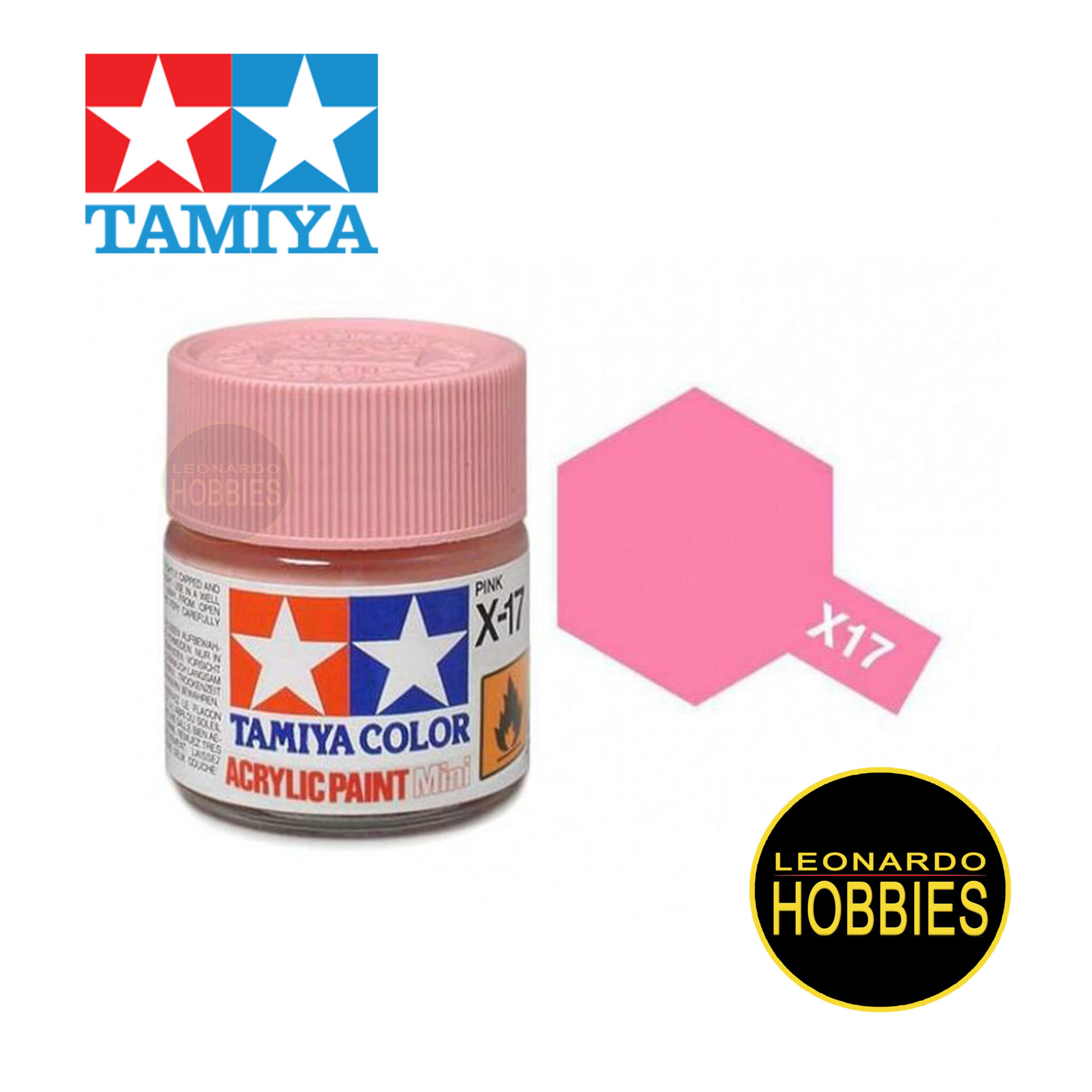Tamiya Acrylic Mini X-17 Pink (Gloss)