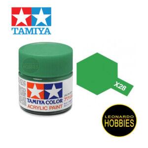 Tamiya X28 Park Green (Gloss)