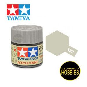 Tamiya X32 Titan Silver (Gloss)