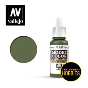 pinturas vallejo, pinturas, vallejo, leonardo hobbies, model color, hobbies rosario, Verde Uniforme Vallejo 70922
