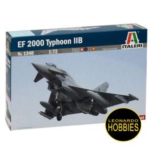 EF 2000 Typhoon IIB, Escala 1/72, Italeri 1340, Plastimodelismo, Maquetas de Aviones, Maquetas Italeri, Italeri Kits, Maquetas Rosario,